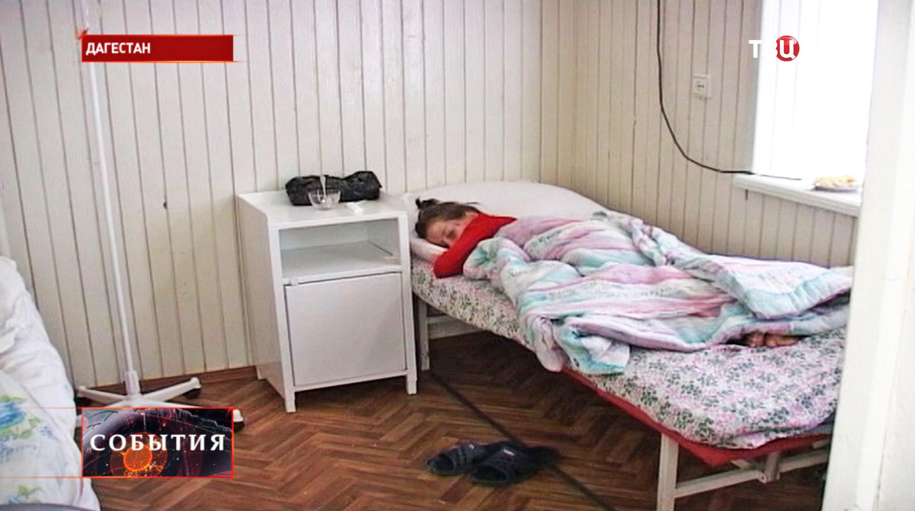 Школьник, пострадавшие в ДТП в Дагестане
