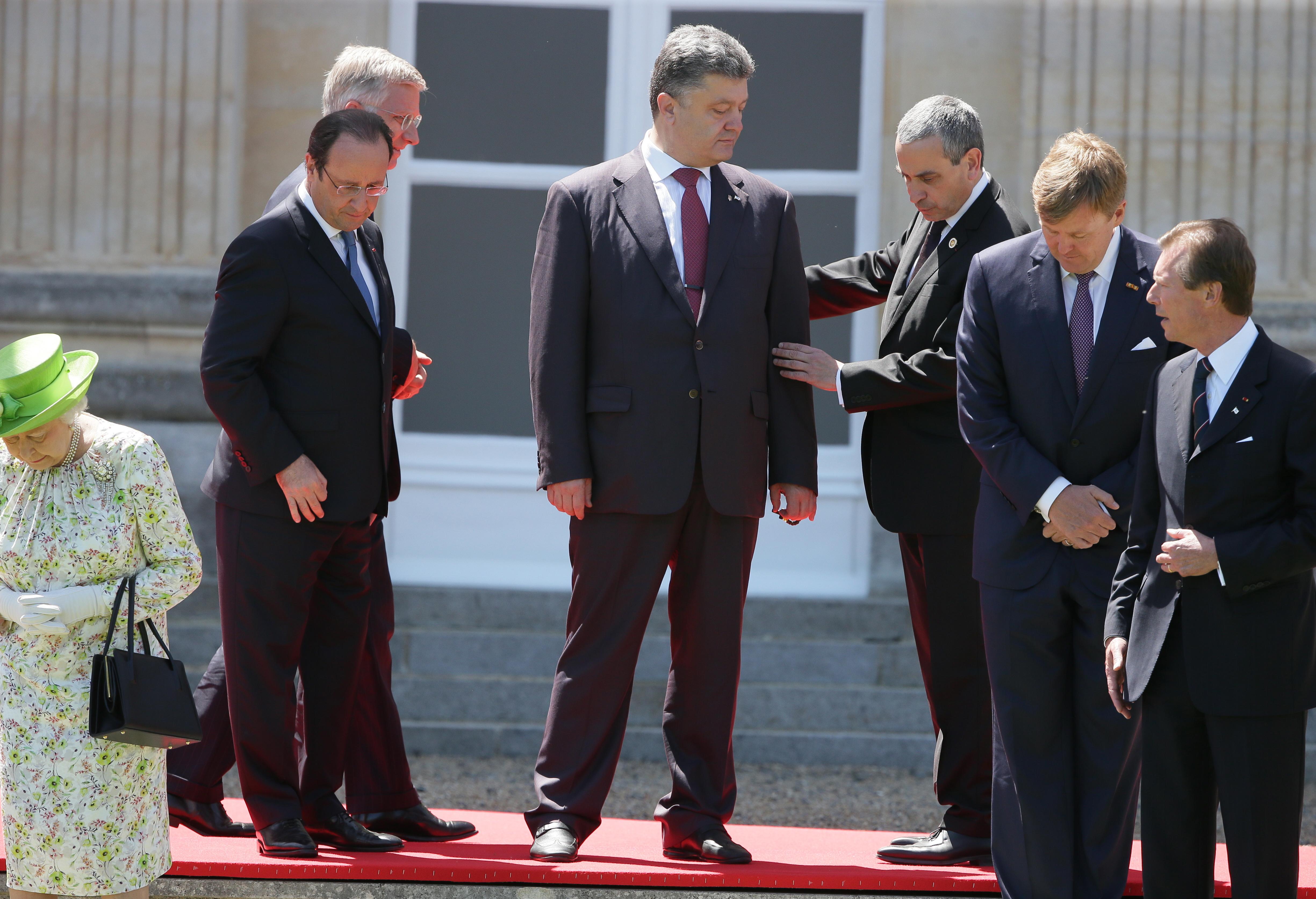 Избранный президент Украины Петр Порошенко