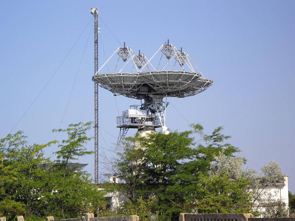 Центр дальней космической связи под Евпаторией