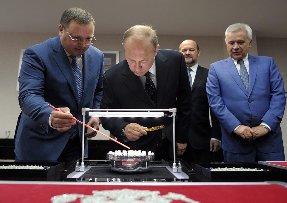 Рабочая поездка президента РФ Владимира Путина в Архангельскую область