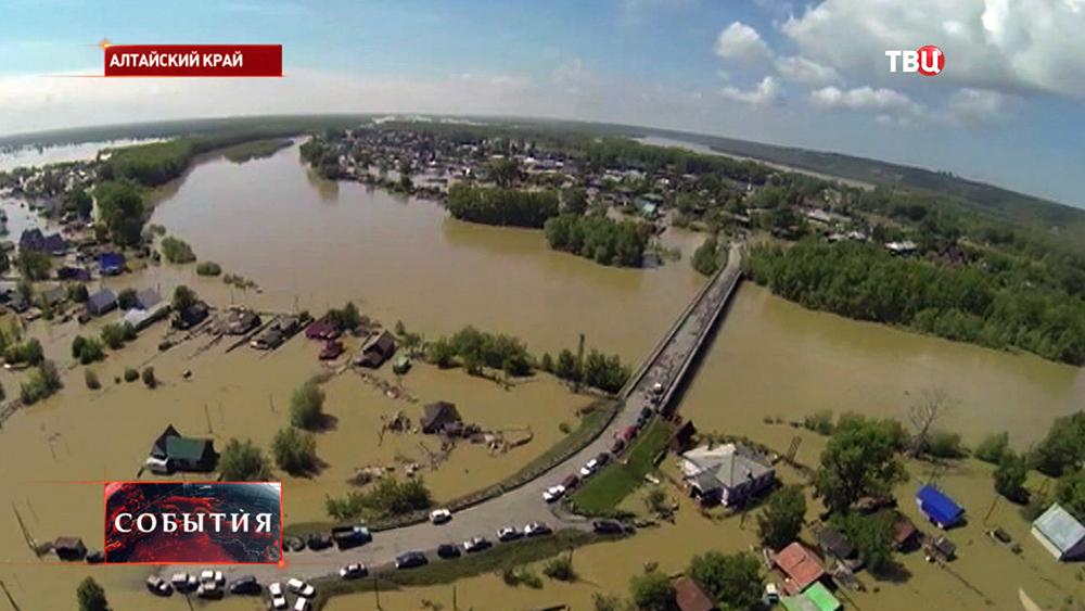 Наводнение в Алтайском крае