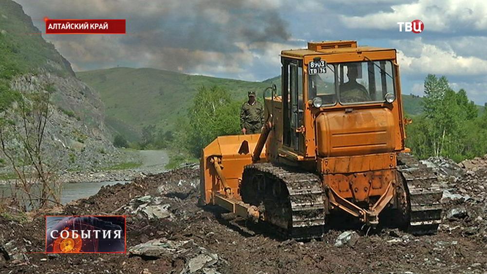 Устранение последствий наводнения в Алтайском крае