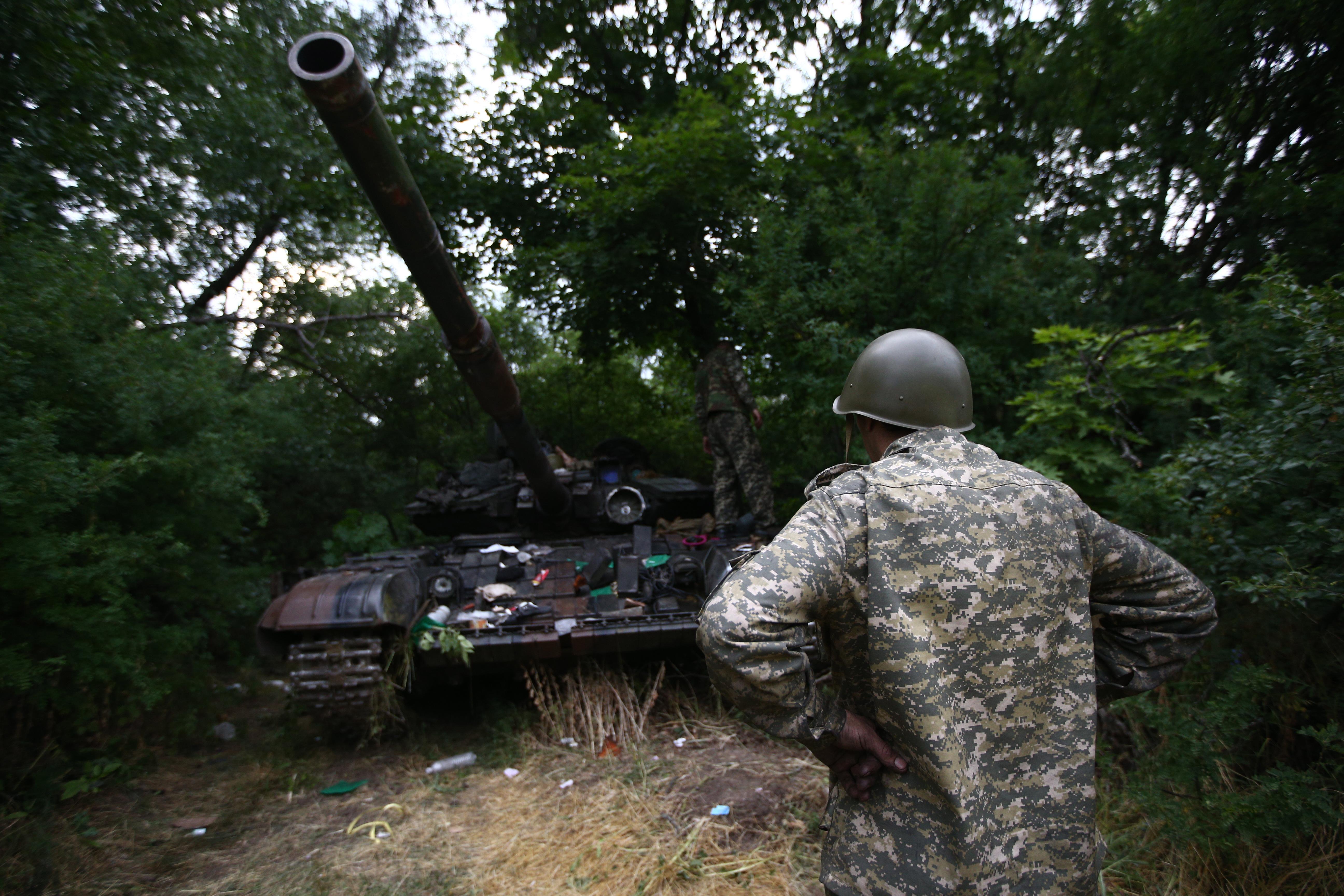 Бои на Украние