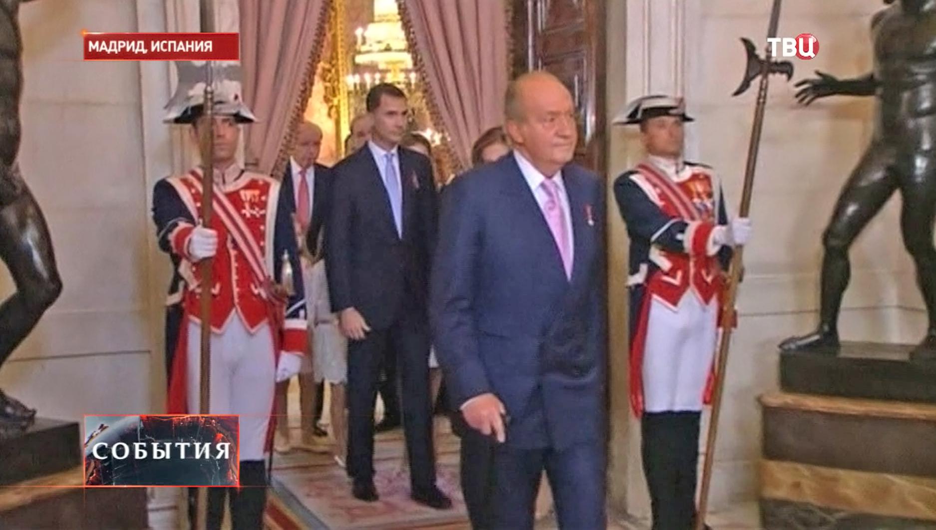 Бывший король Испании Хуан Карлос I