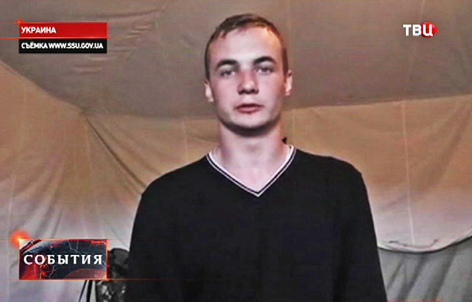 Задержанный СБУ житель Курска Николай Крылов