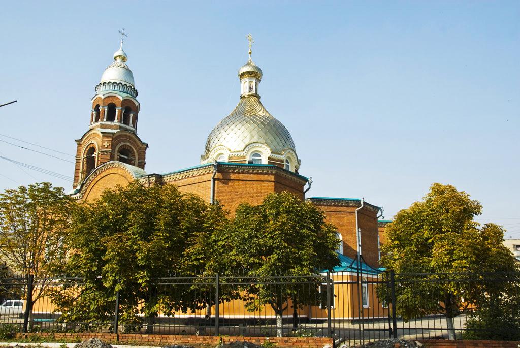 Александро-Невский кафедральный собор в Славянске