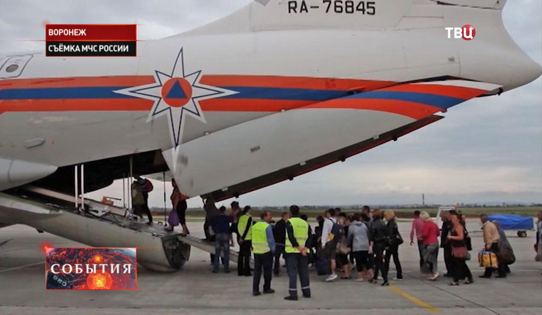 Беженцы с юго-востока Украины в Воронеже
