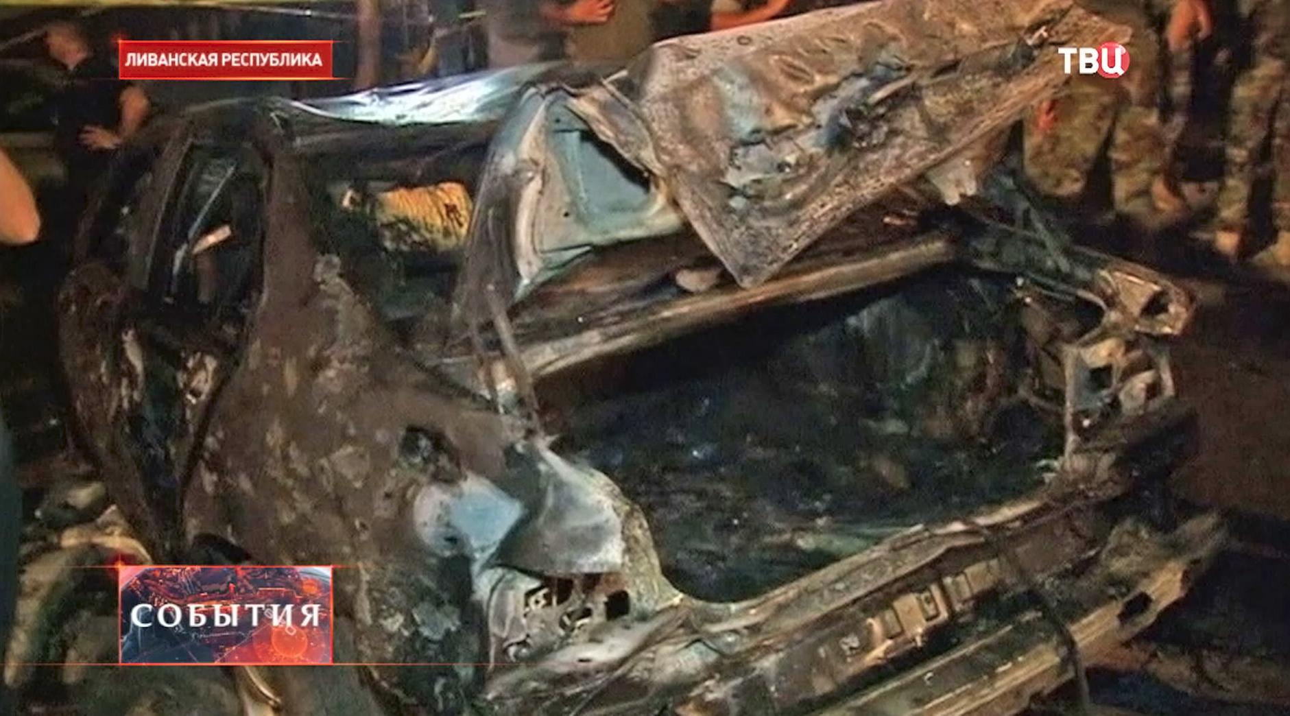 Теракт в Ливане