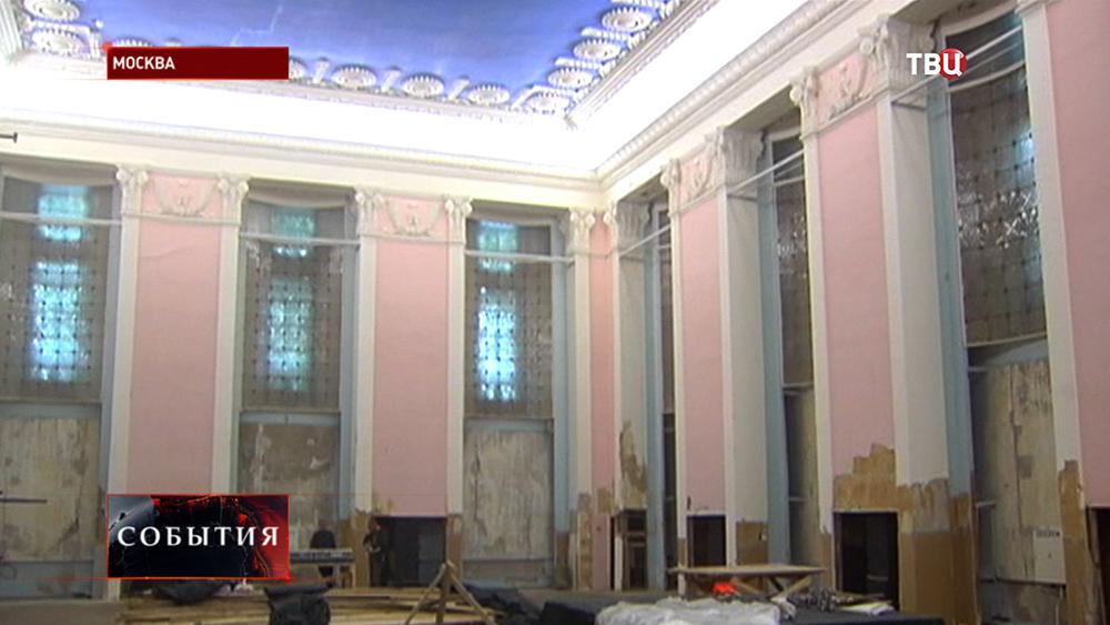 Реставрация павильона ВДНХ