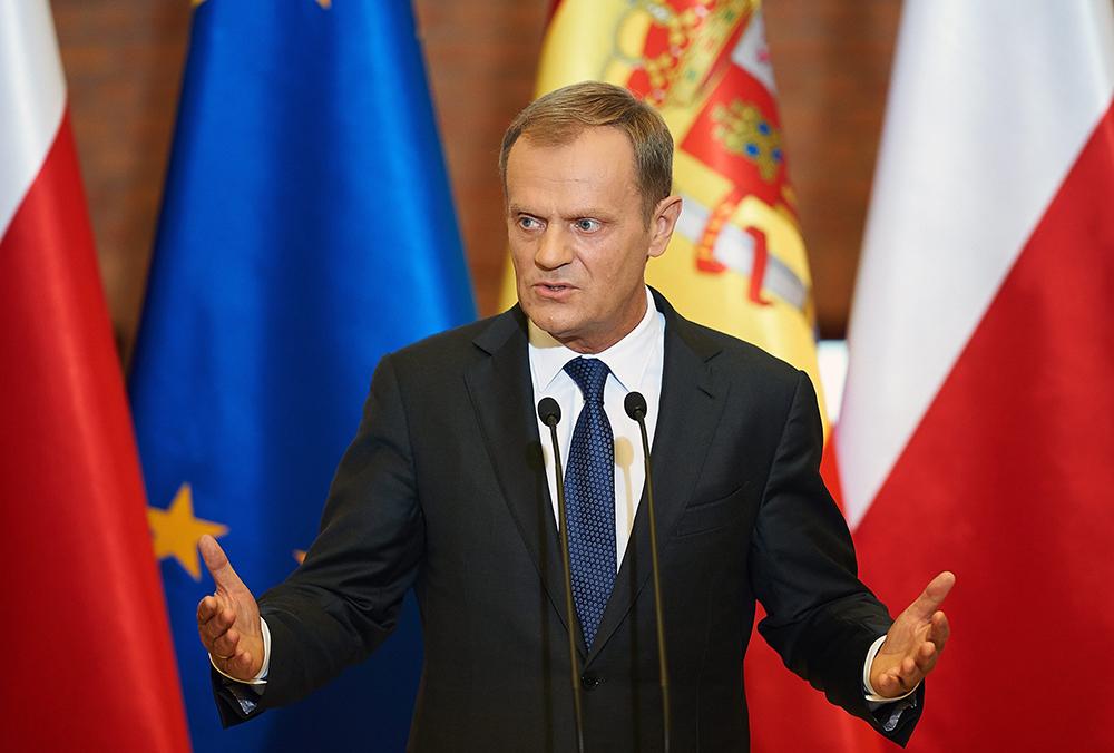 Бывший премьер-министр Польши Дональд Туск