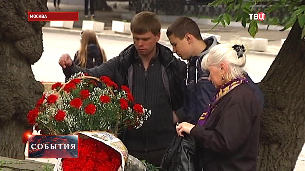 Прощание со звукоинженером телекомпании ВГТРК Антоном Волошиным