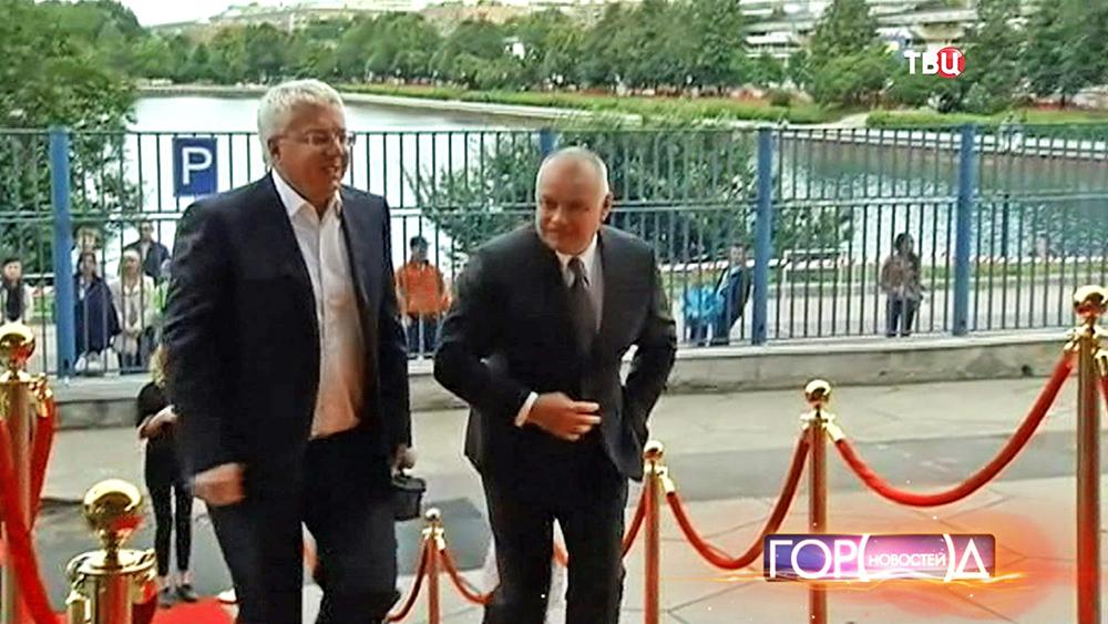 Дмитрий Киселёв на церемонии вручения национальной телевизионной премии ТЭФИ