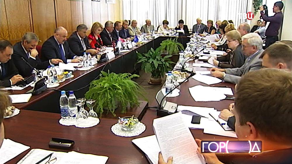 Заседание Московской трёхсторонней комиссии