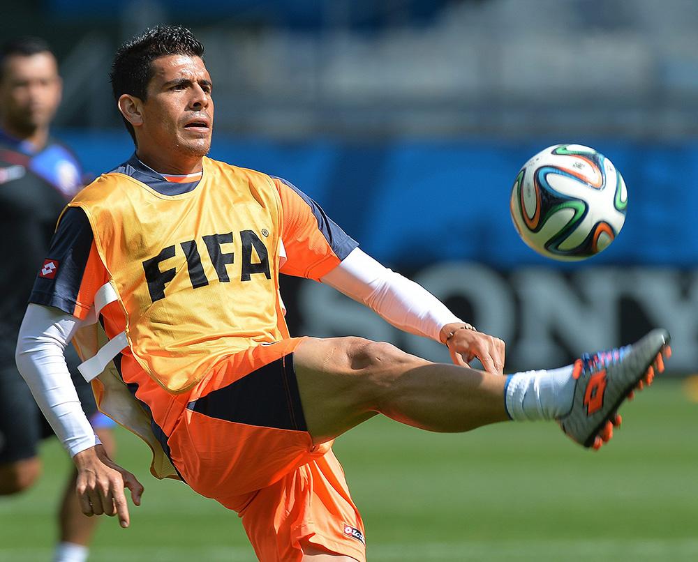 Футболист сборной Коста-Рики на ЧМ-2014