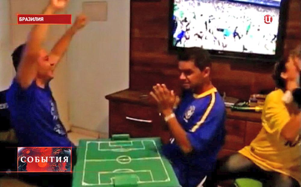 Глухонемой футбольный фанат из Бразилии Карлос Альберто