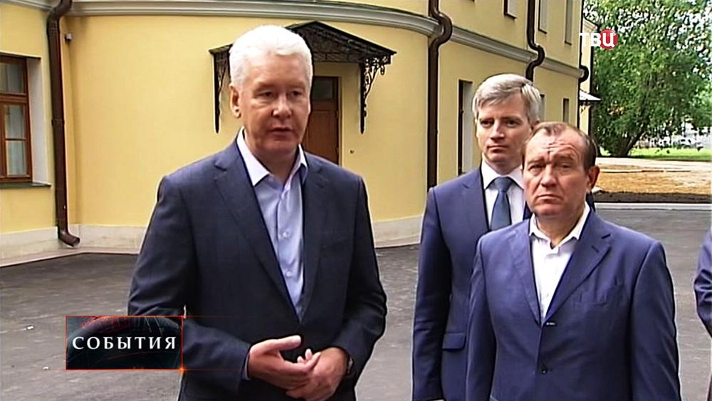 Сергей Собянин, Пётр Бирюков и Александр Кибовский