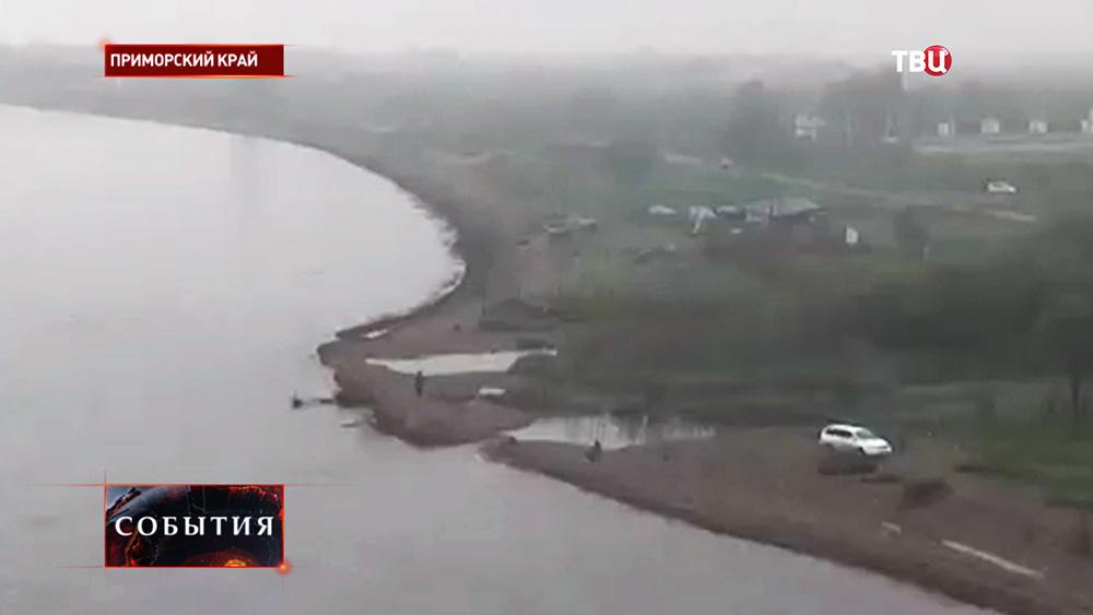 Береговая линия в Приморском крае
