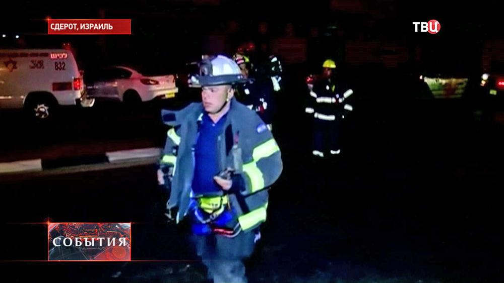 Израильские пожарные
