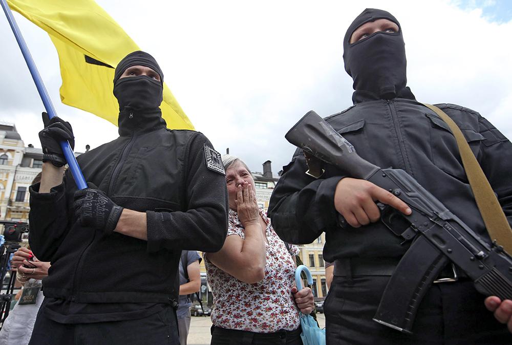 """Добровольцы батальона """"Азов"""""""