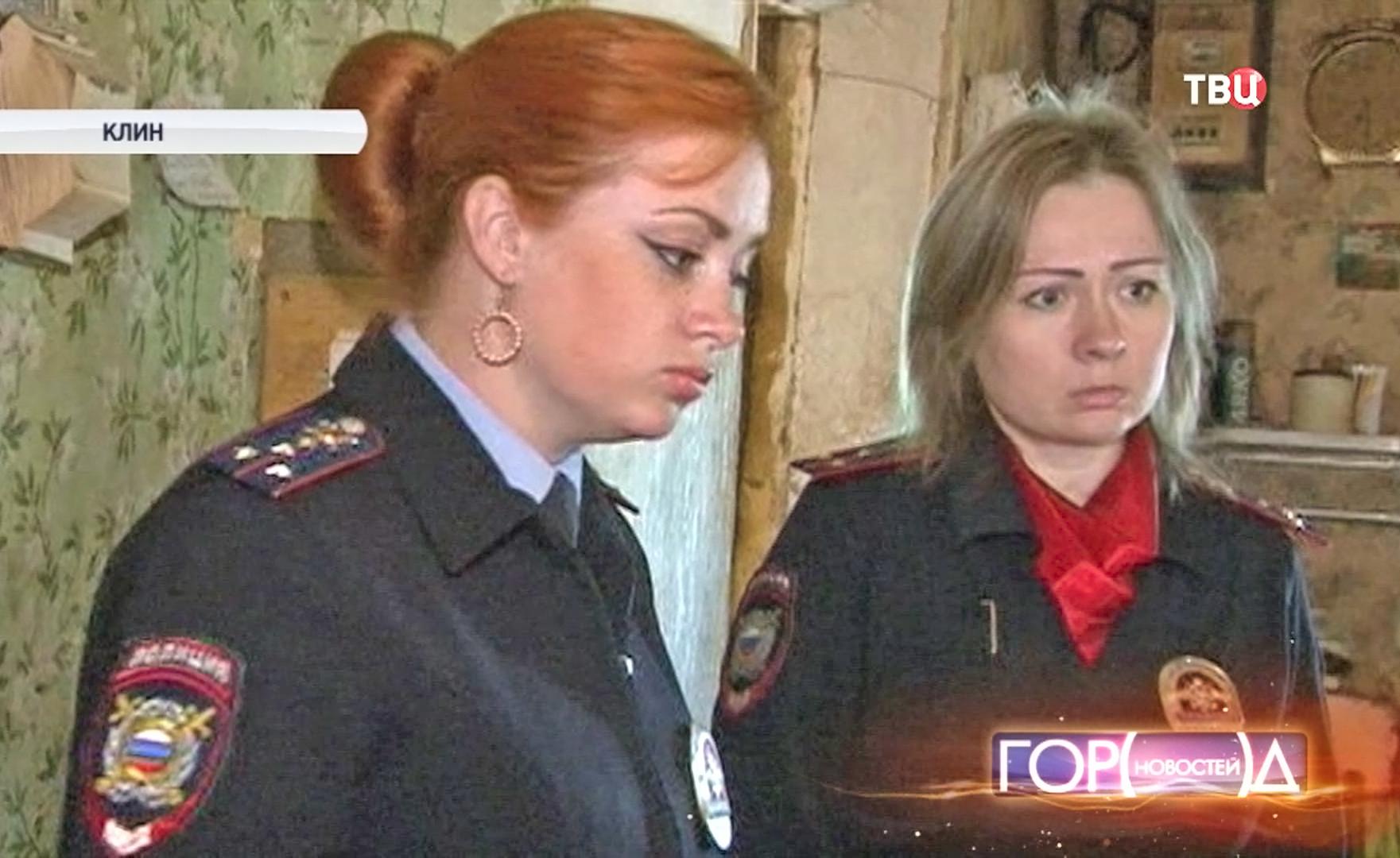 Полиция проводит рейд в квартирах