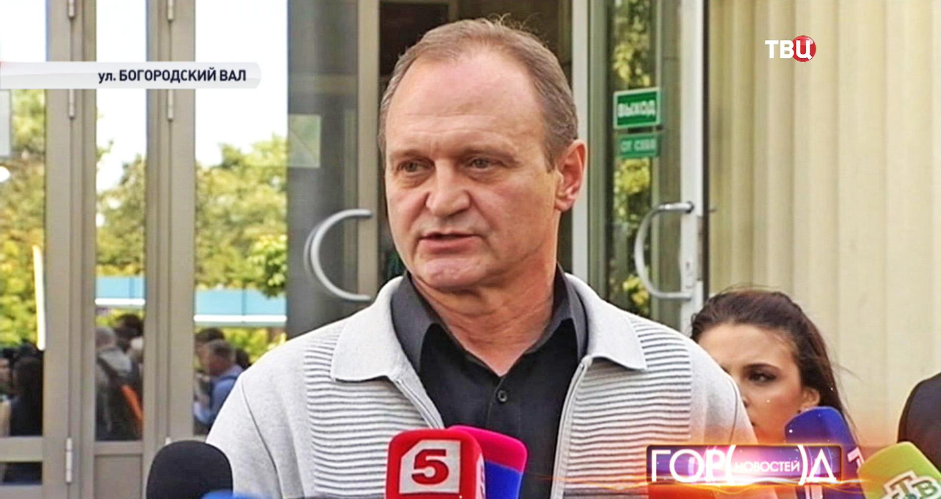 Владимир Щербаков, отец Егора Щербакова