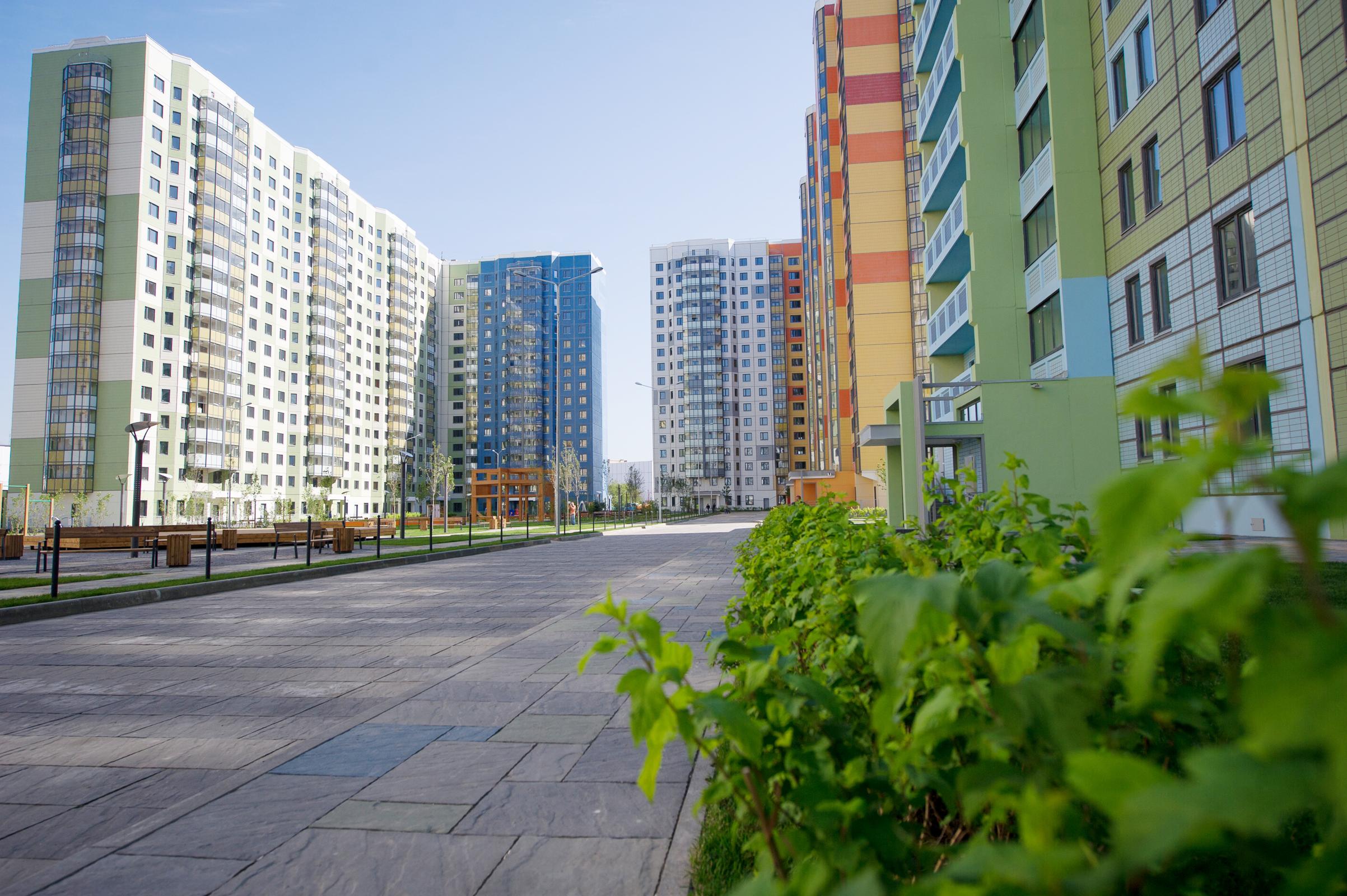 Квартал комплексной жилой застройки в районе Западное Дегунино