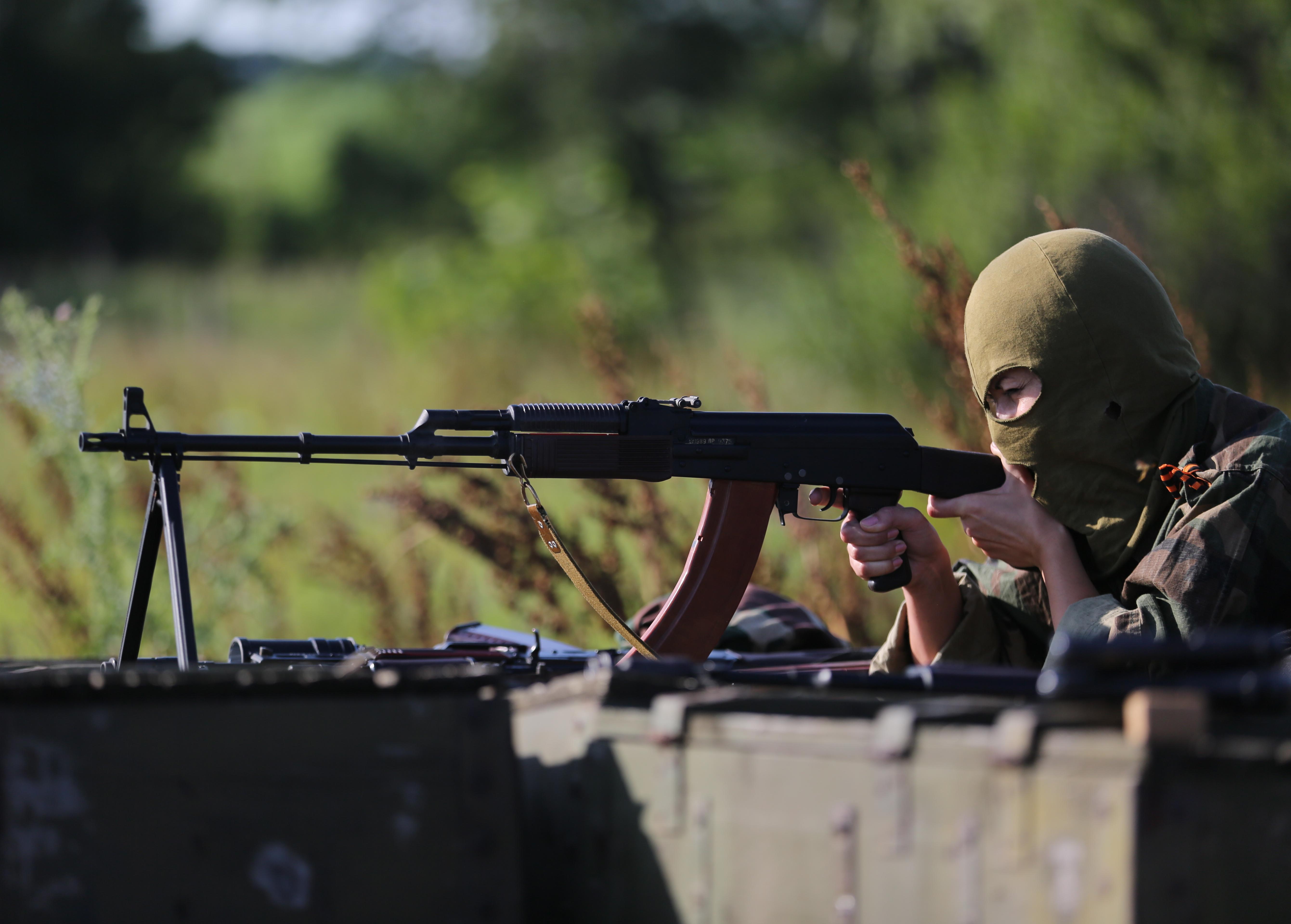 """Боец женского подразделения батальона """"Русь"""" ополчения Донбасса"""