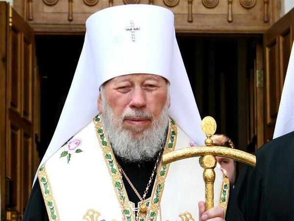 Глава Украинской православной церкви Московского патриархата митрополит Владимир