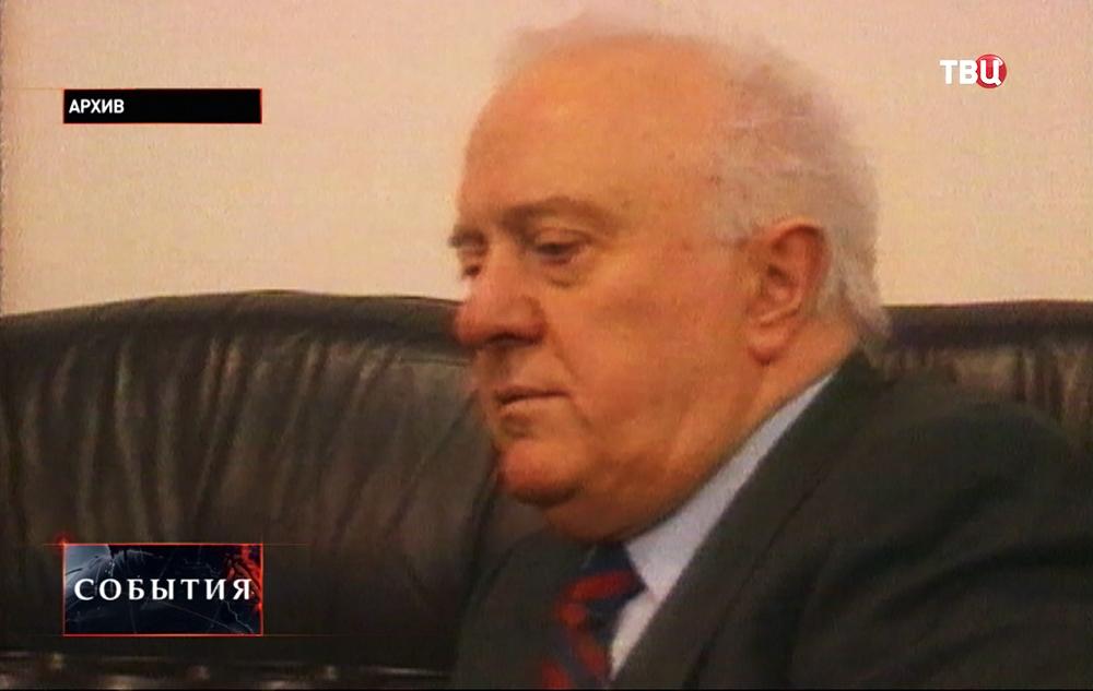 Бывший президент Грузии Эдуард Шеварднадзе