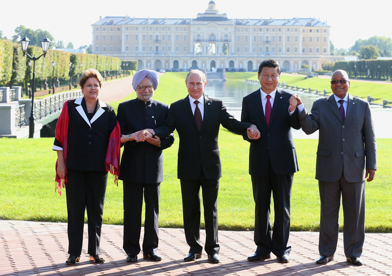 Представители БРИКС на саммите