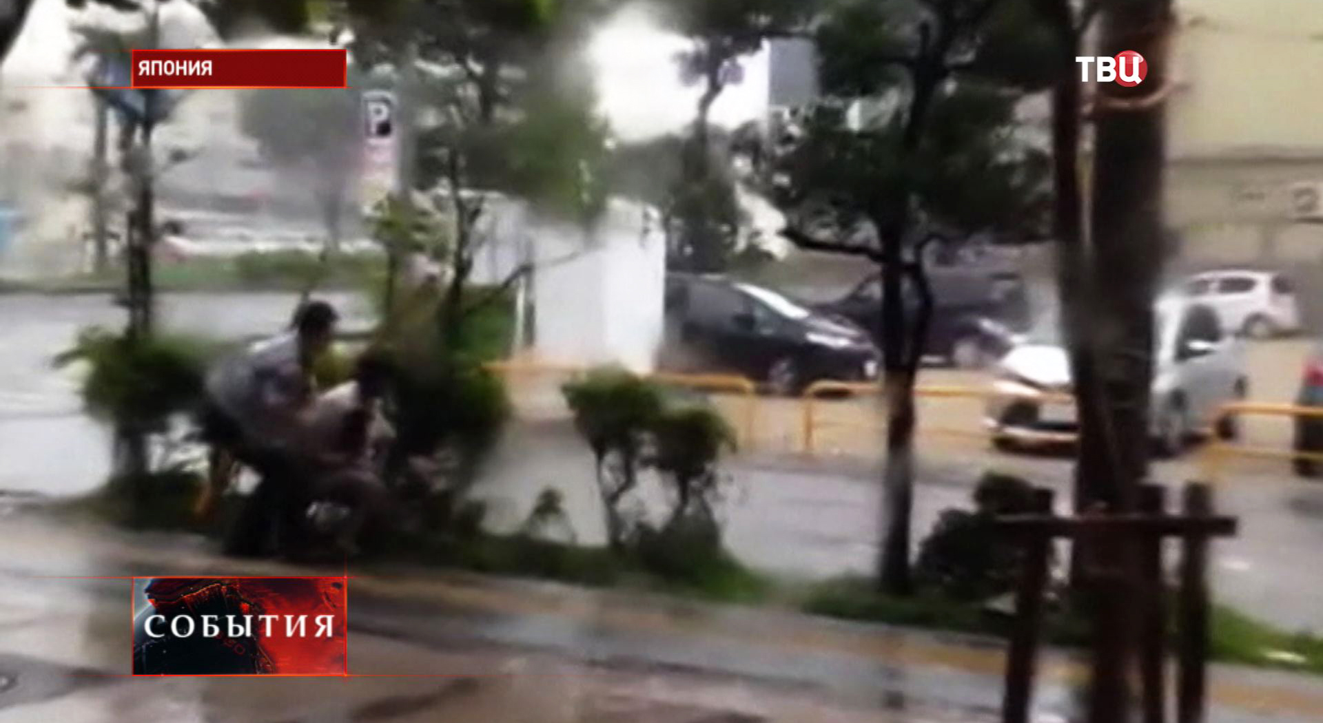 "Тайфун ""Неогури""в Японии"