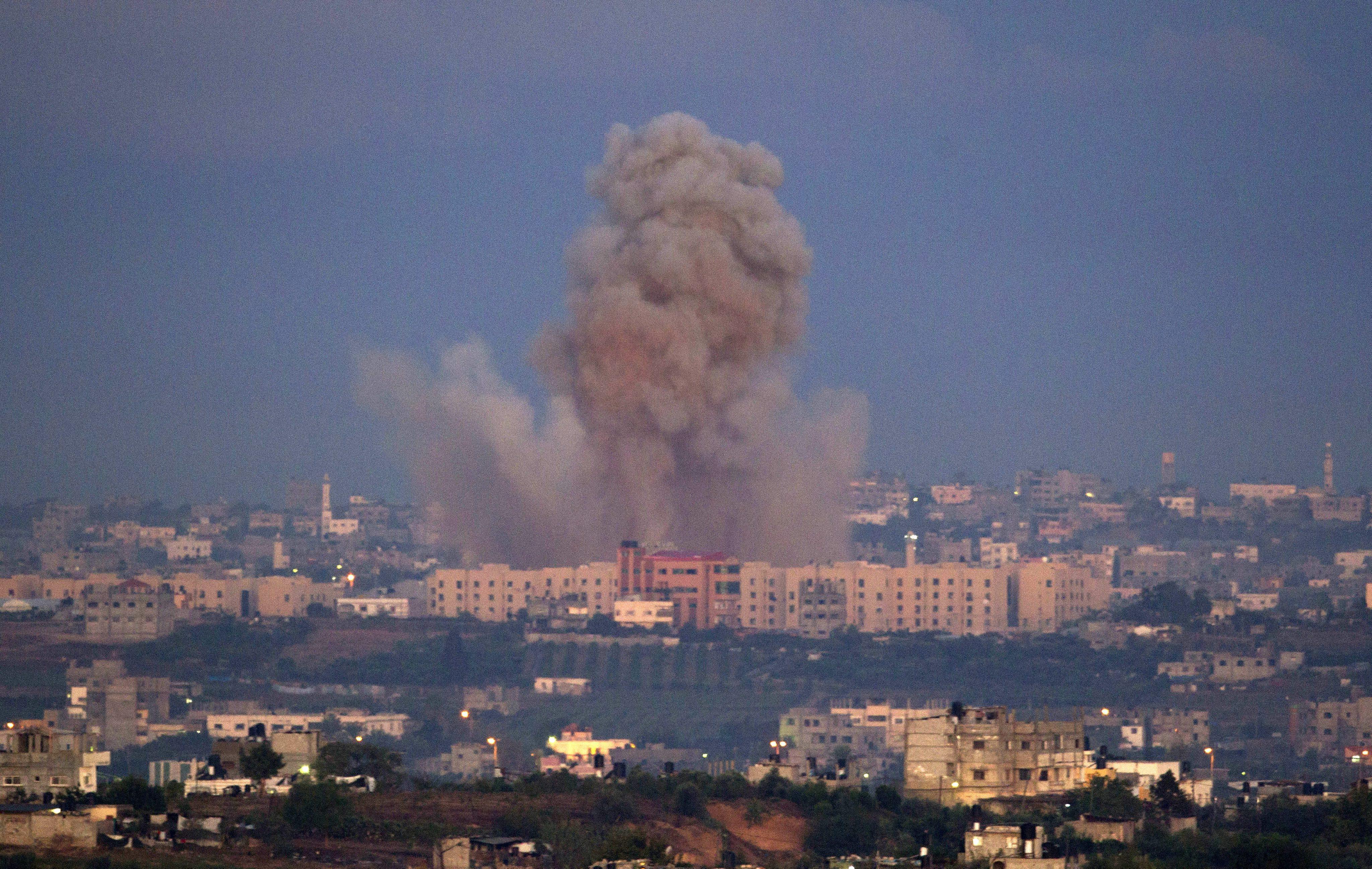 Ситуация в секторе Газа