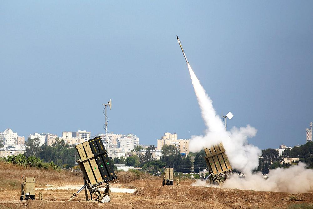 Обстрел сектора Газа израильской армией