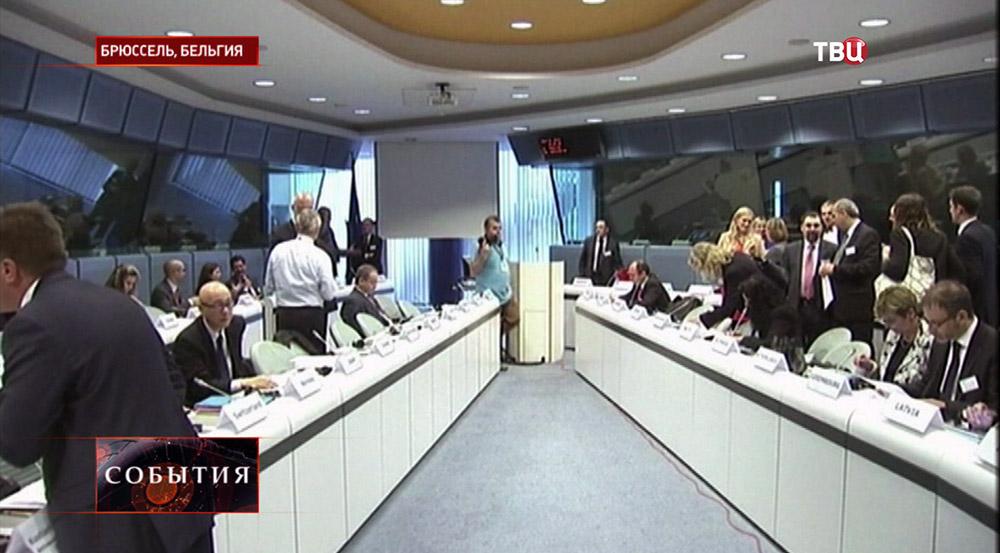 Заседание в штабквартире ЕС