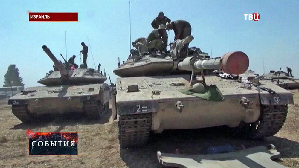 Военная техника армии Израиля
