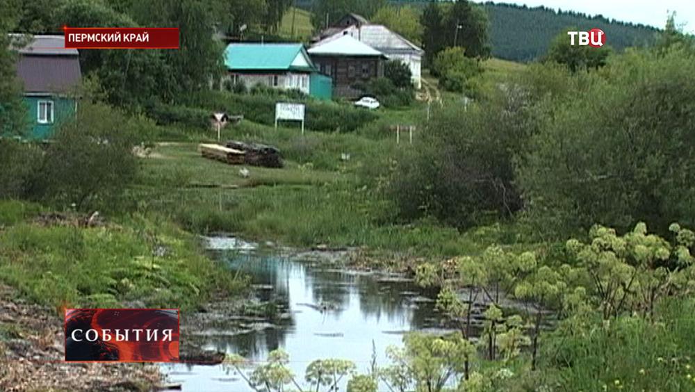 Село в Пермском крае