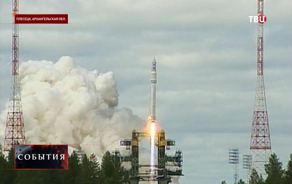 """Запуск ракеты-носителя легкого класса """"Ангара-1.2ПП"""""""