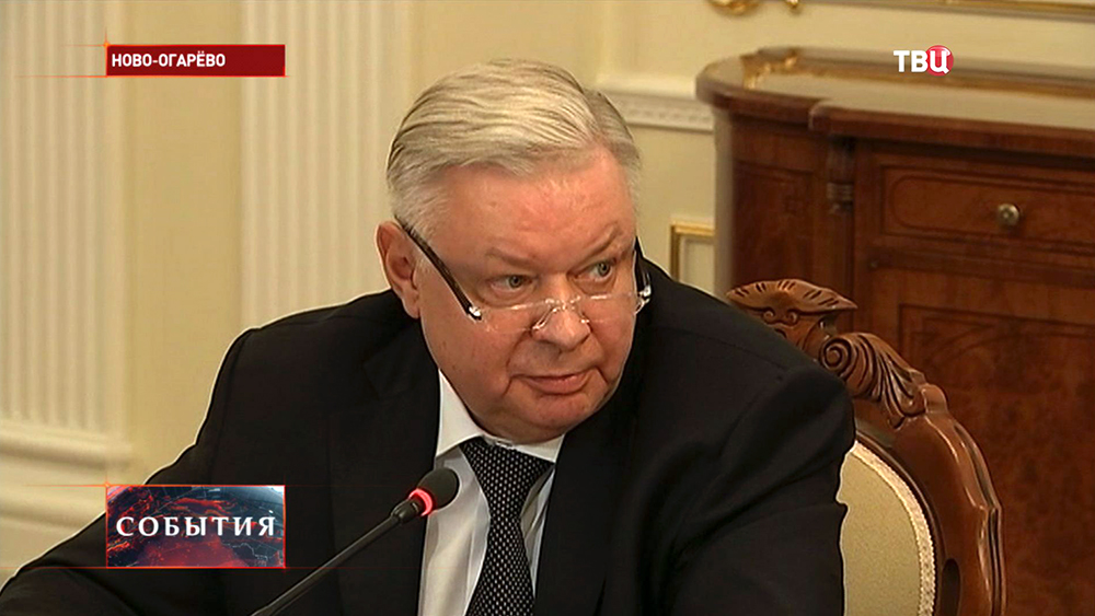 Глава Миграционной службы Константин Ромодановский