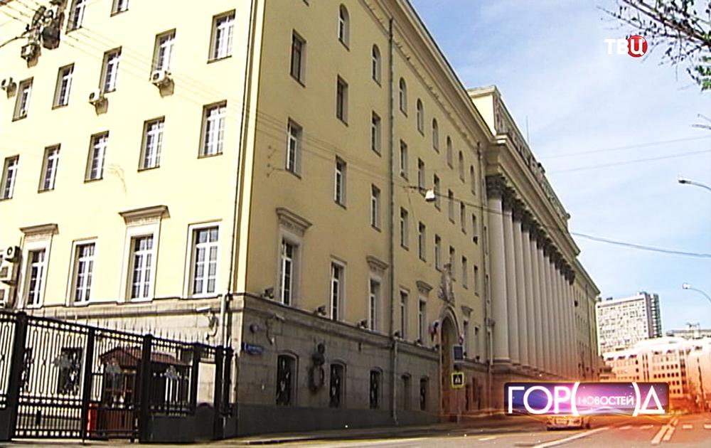 Здание министерства обороны