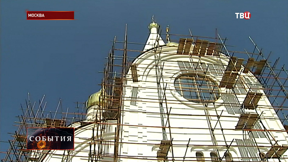 Строительство храма в честь Иверской иконы Божией Матери