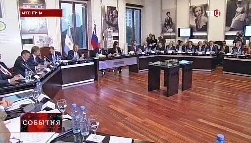 Официальный визит Российской делегации в Аргентину