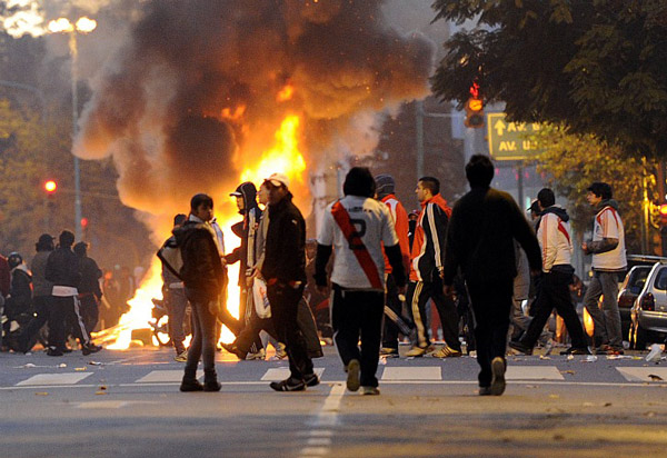 Беспорядки в Буэнос-Айресе
