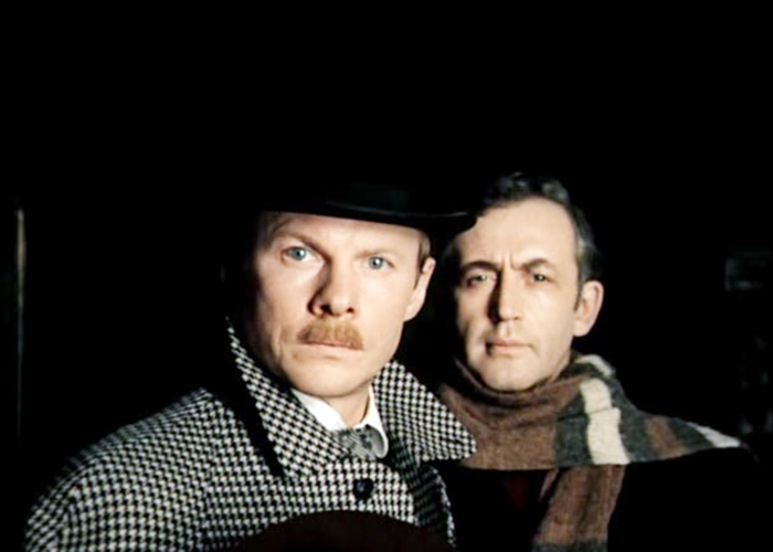 Холмс знакомство актеры и шерлок доктор ватсон