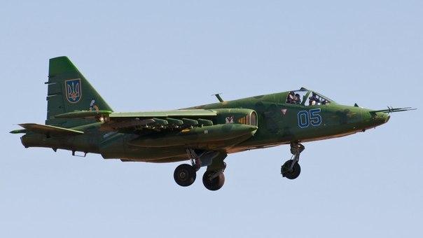 Штурмовик СУ-25 ВВС Украины