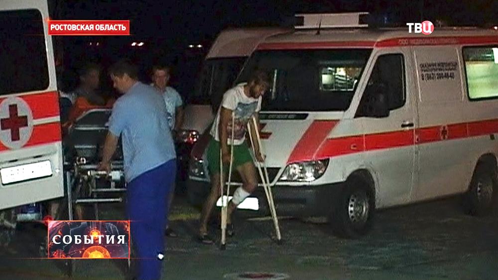 Раненых украинских военных отправляют на родину из Ростовской области