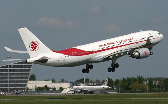 Самолет авиакомпании Air Algerie