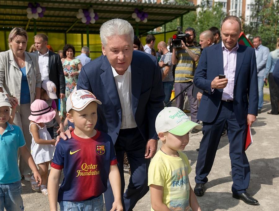 Сергей Собянин посетил детский сад