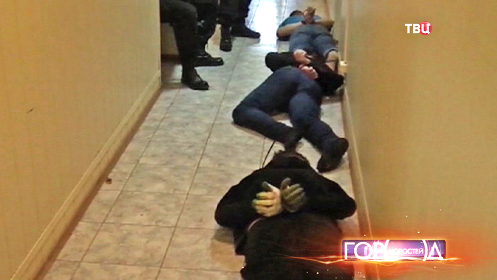 Задержанные бандиты