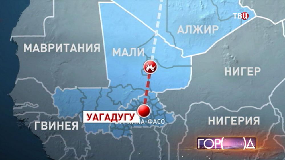 В Мали потерпел крушение самолет авиакомпании Air Algerie