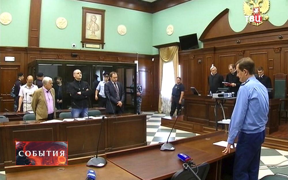 Суд над Сергеем Удальцовым и Леонидом Развозжаевым